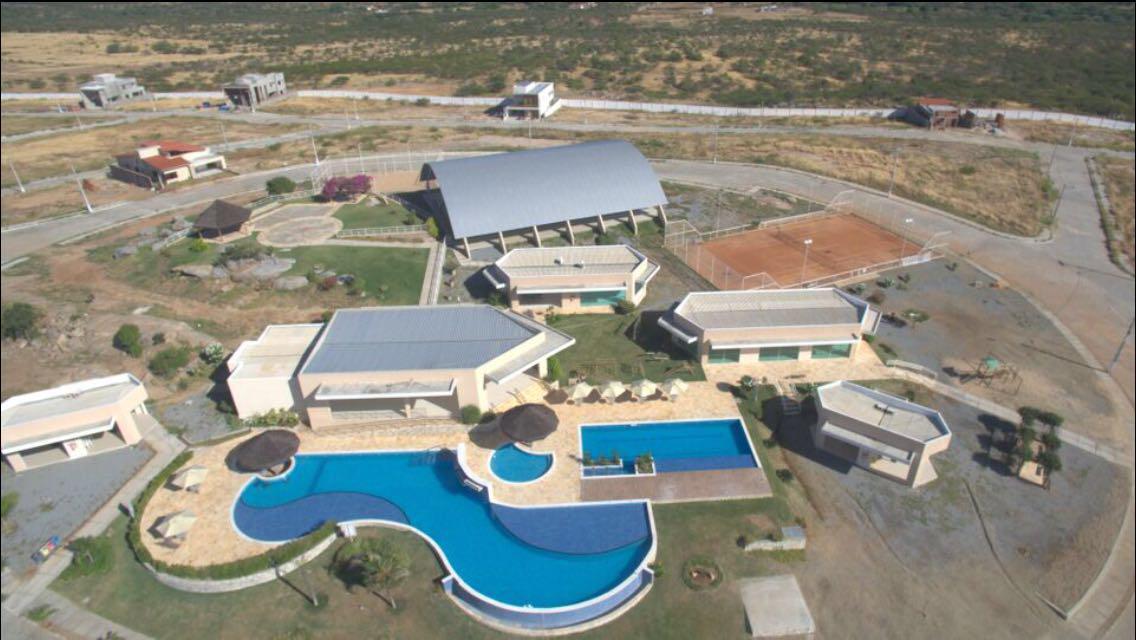 Vista aérea do Mirante da Serra